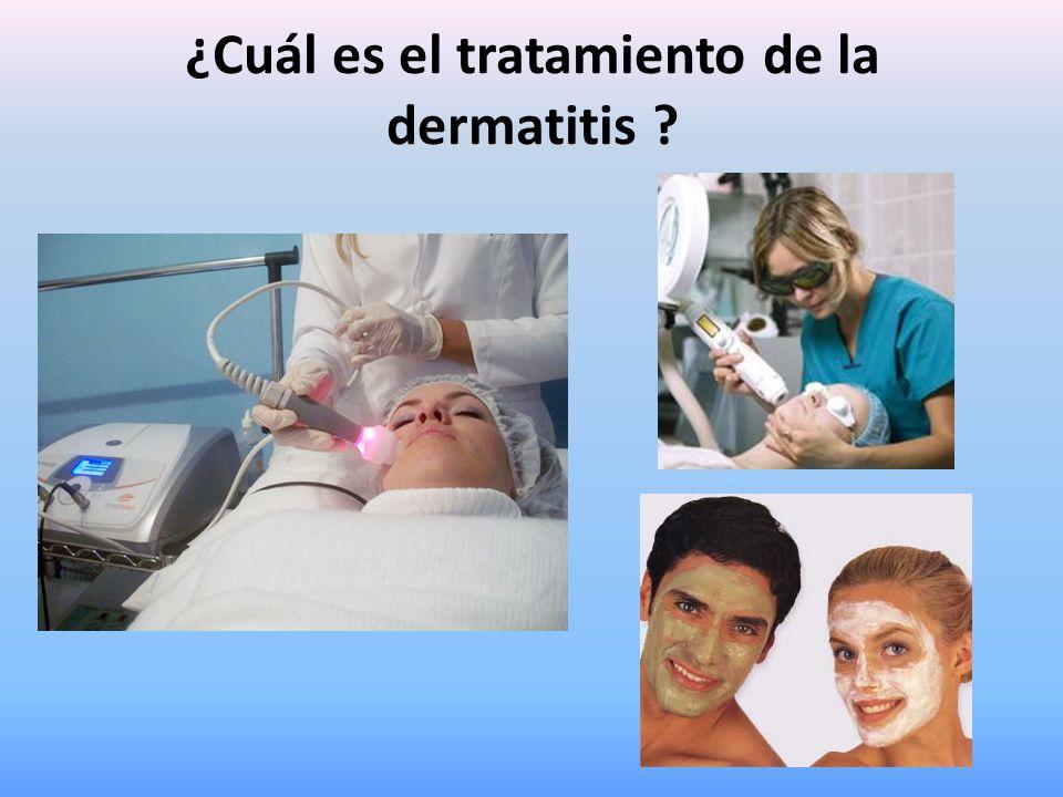 ¿Cuál es el tratamiento de la dermatitis ?