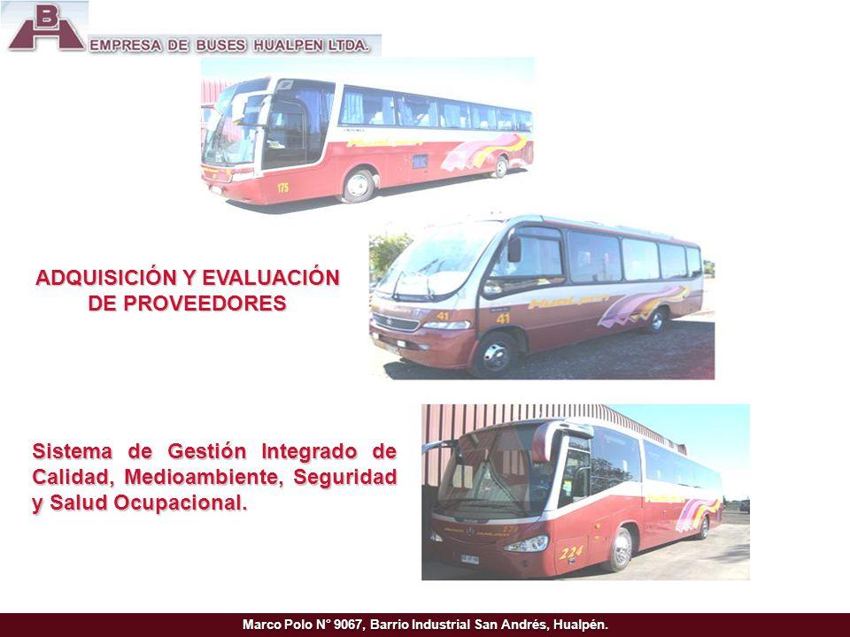 Marco Polo N° 9067, Barrio Industrial San Andrés, Hualpén.