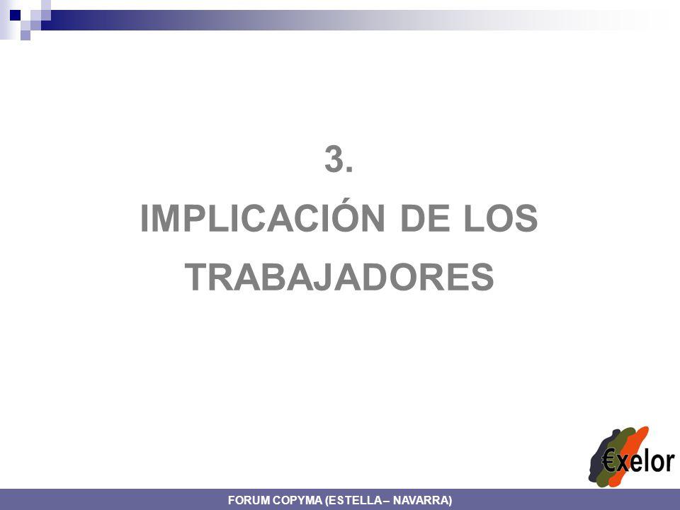 3. IMPLICACIÓN DE LOS TRABAJADORES FORUM COPYMA (ESTELLA – NAVARRA)