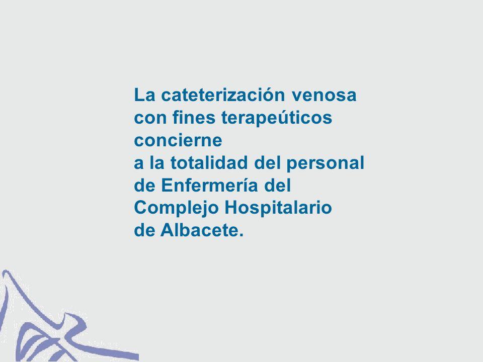 PREVENCIÓN DE LA INFECCIÓN RELACIONADA CON CATÉTER. Elección del catéter.