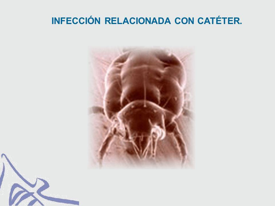 RESULTADOS Se contaminaron el 15% de los catéteres, llegando a producir sepsis un 2 %
