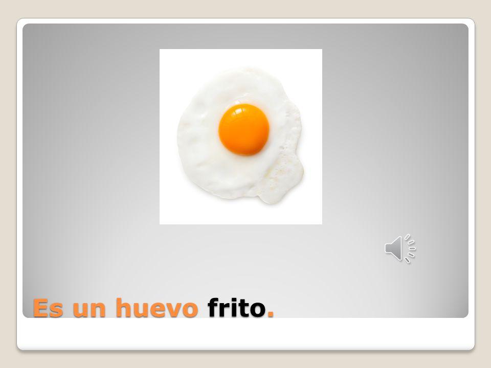 Es un huevo _____.