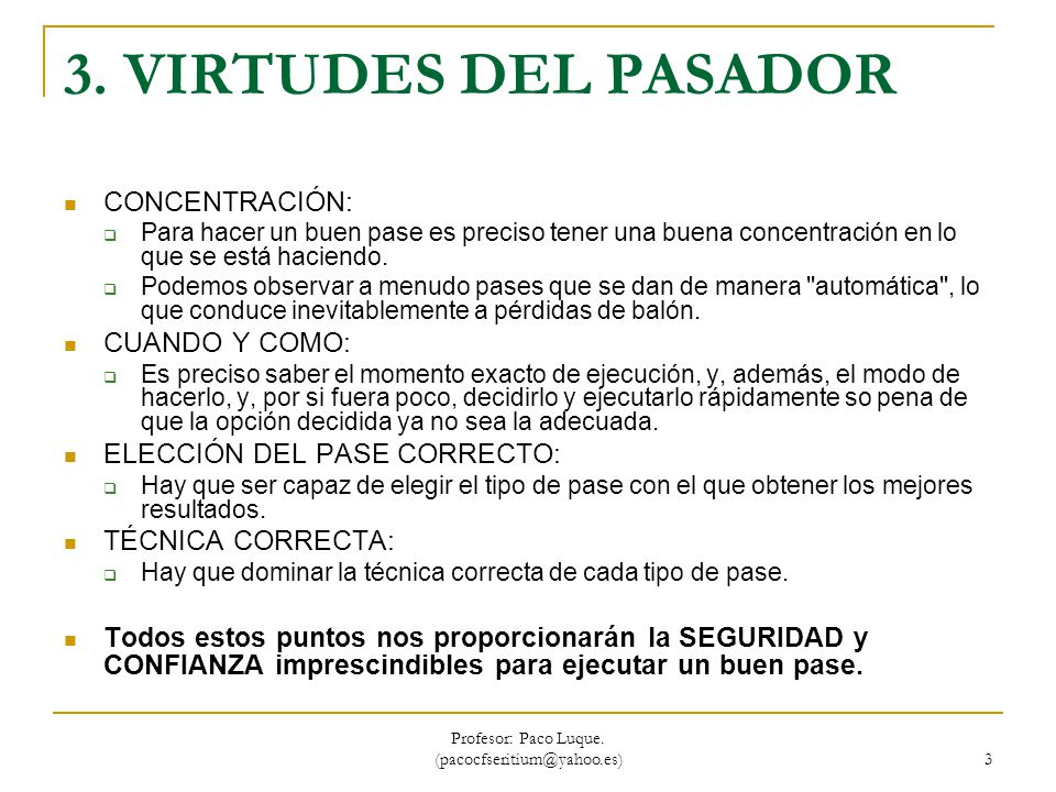 Profesor: Paco Luque.(pacocfseritium@yahoo.es) 24 4.