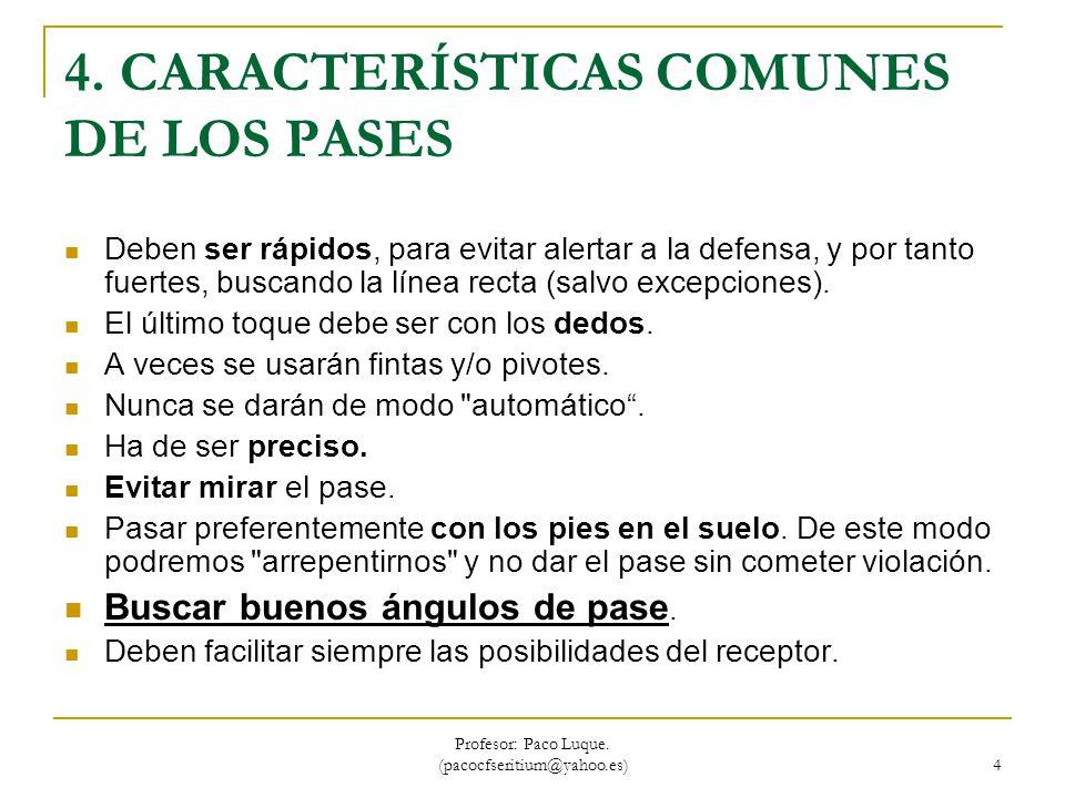 Profesor: Paco Luque.(pacocfseritium@yahoo.es) 5 5.