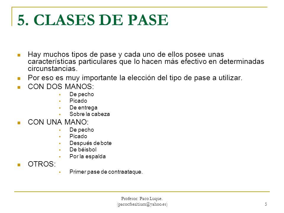Profesor: Paco Luque.(pacocfseritium@yahoo.es) 6 6.