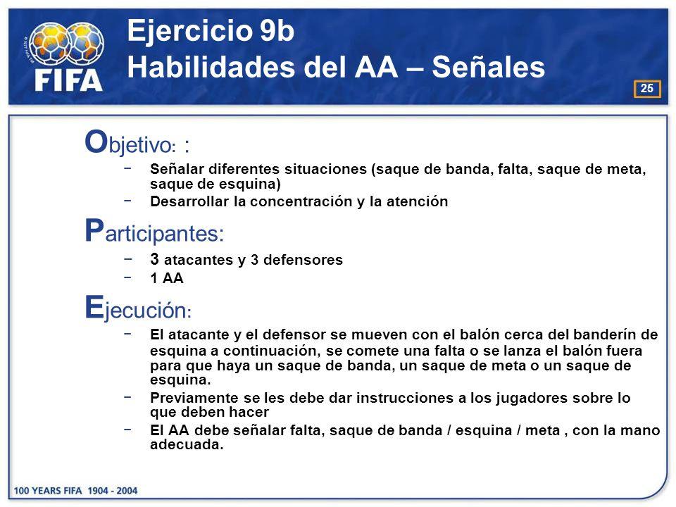 26 Ejercicio 9b Habilidades del AA – Señales