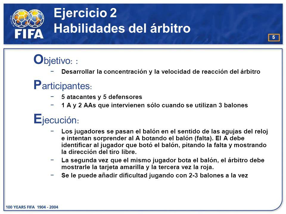 6 Ejercicio 2 Habilidades del árbitro