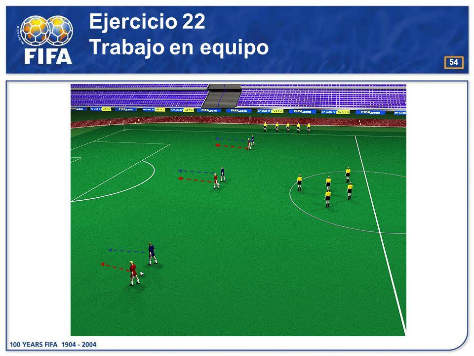 55 O bjetivo : −Desarrollar el movimiento y la colocación del árbitro.