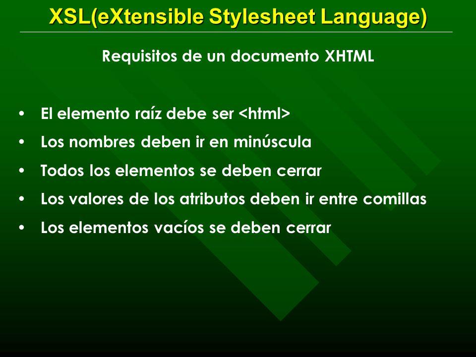 Oscar Bedoya. XSL. Una hoja de estilo es un documento XML que tiene ...