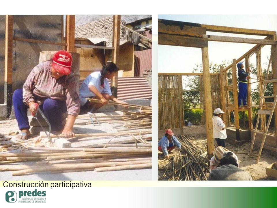 Construcción participativa