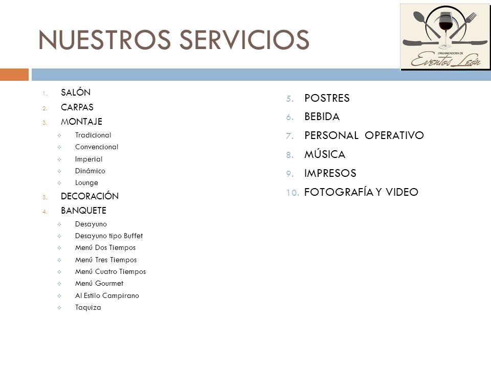 TAQUIZA INCLUYE: Cuatro Platillo seleccionados de la Carta Dos Complementos Tortillas Salsas y/o Chiles.