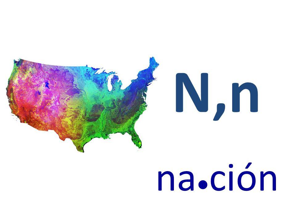 N,n na ● ción