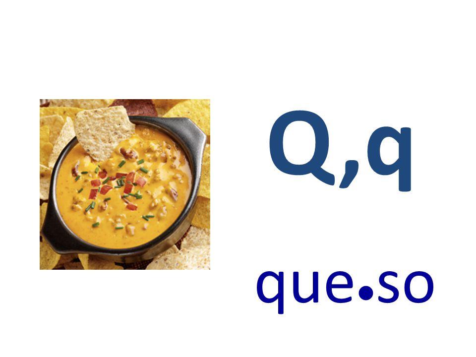 Q,q que ● so
