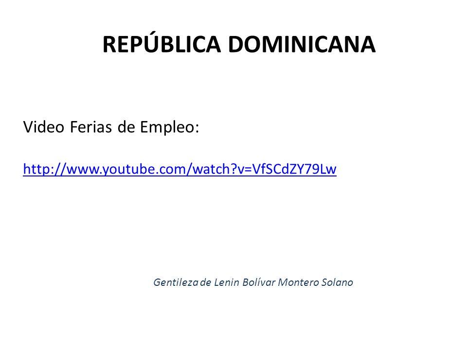 Video Ferias de Empleo: http://www.youtube.com/watch?v=VfSCdZY79Lw
