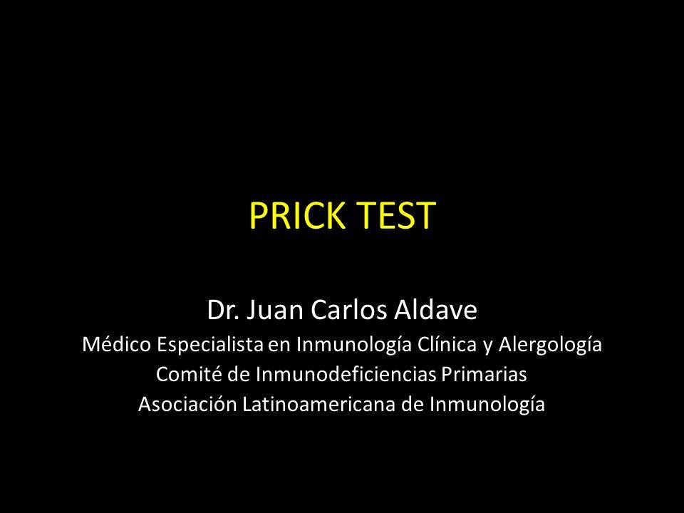 Objetivos de la práctica: – Conocer el mecanismo de producción de la IgE – Conocer cuáles son las enfermedades alérgicas – Conocer la técnica de diagnóstico prick test