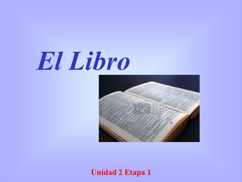 Unidad 2 Etapa 1 El Libro