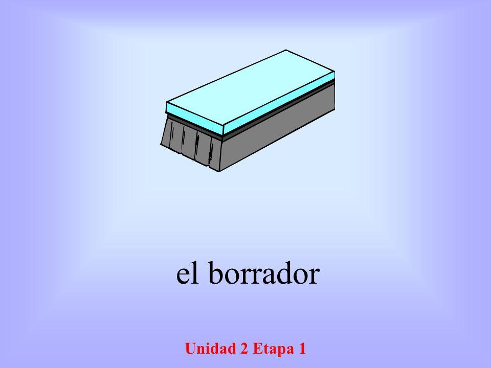 Unidad 2 Etapa 1 el borrador