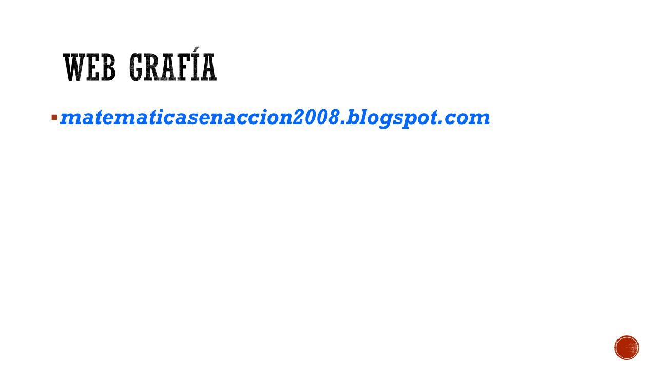  matematicasenaccion2008.blogspot.com