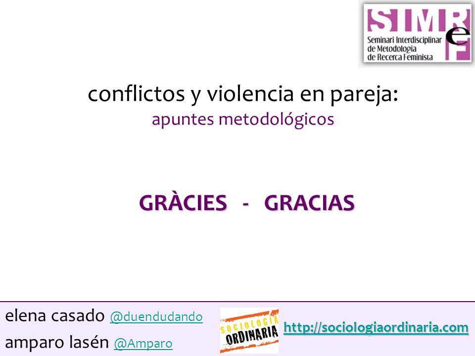 """La presentaci�n """"Conflictos y violencia en pareja: apuntes ..."""