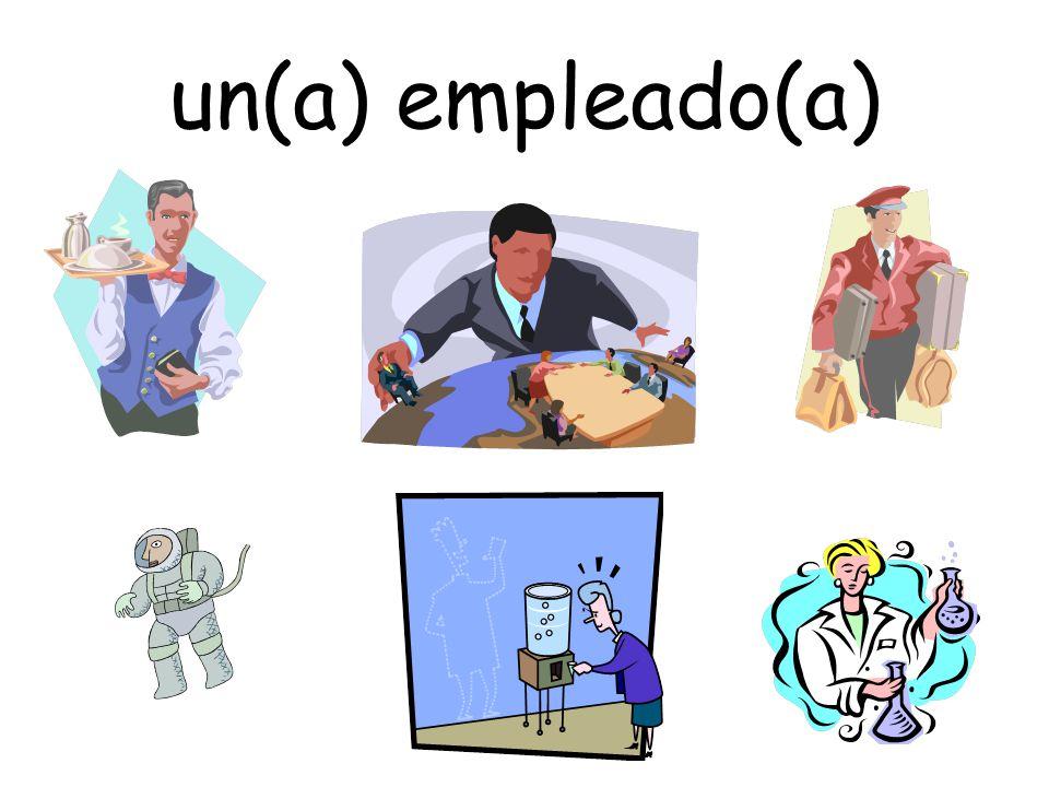 un(a) empleado(a)
