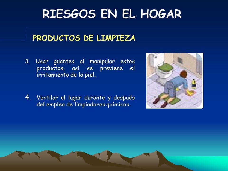 RIESGOS EN EL HOGAR 1.