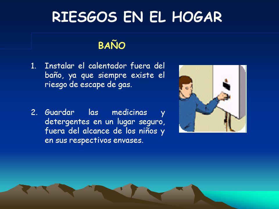 RIESGOS EN EL HOGAR 3.