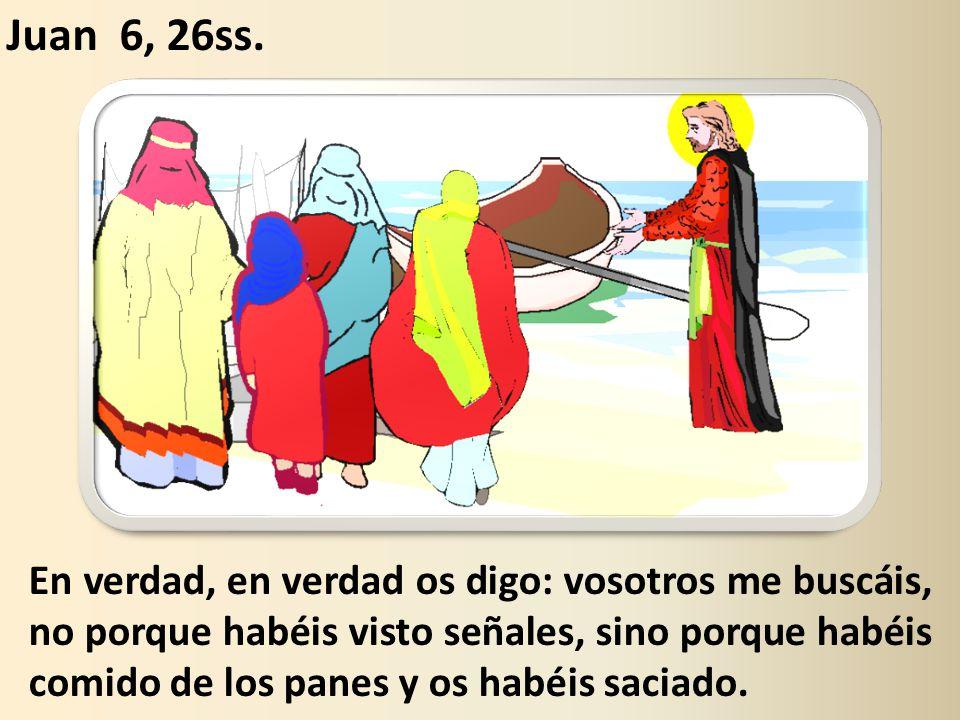 Está escrito en los profetas: «Serán todos enseñados por Dios.» Todo el que escucha al Padre y aprende, Viene a Mí.