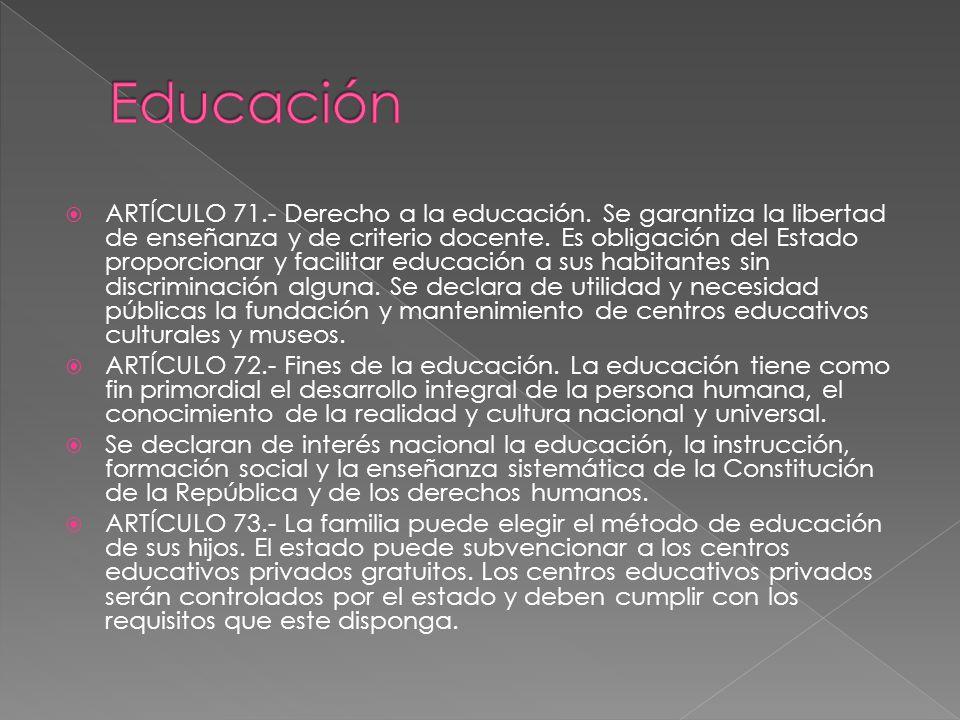 libertad de ensenanza y derecho a la educacion: