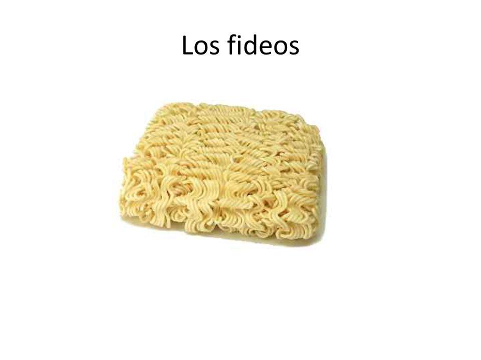 Los fideos
