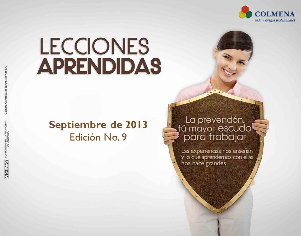 Septiembre de 2013 Edición No. 9