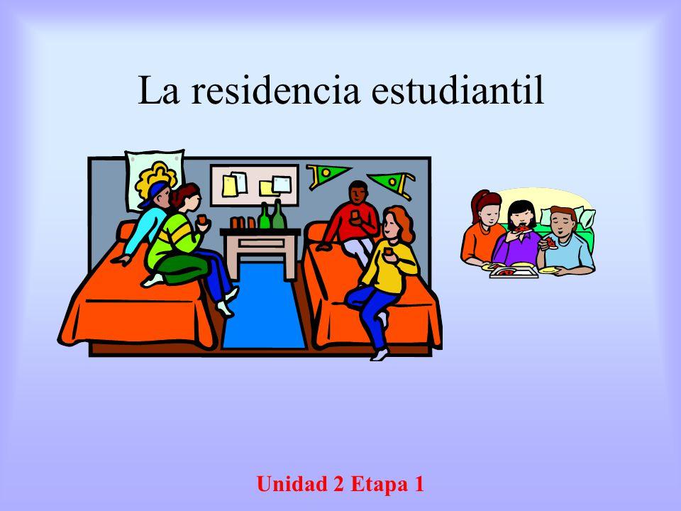 La residencia estudiantil Unidad 2 Etapa 1