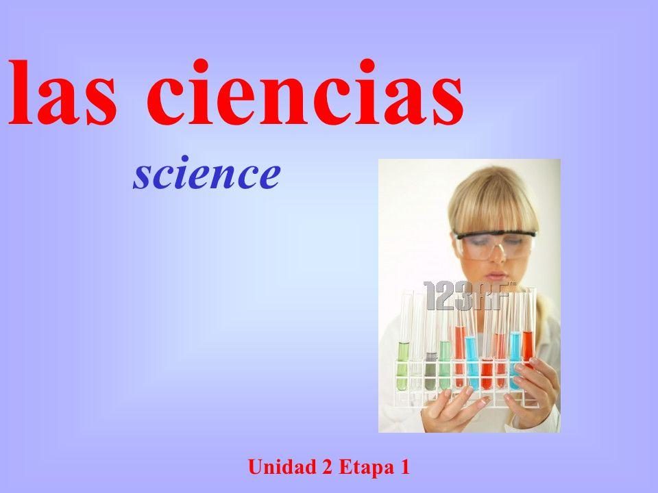 science las ciencias