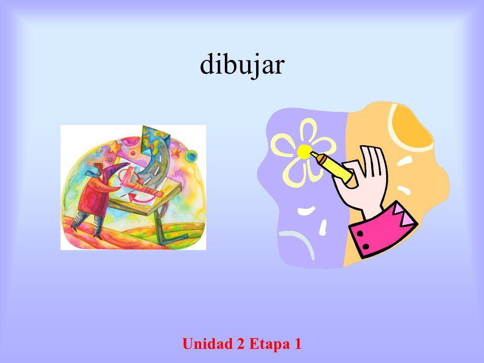 dibujar Unidad 2 Etapa 1