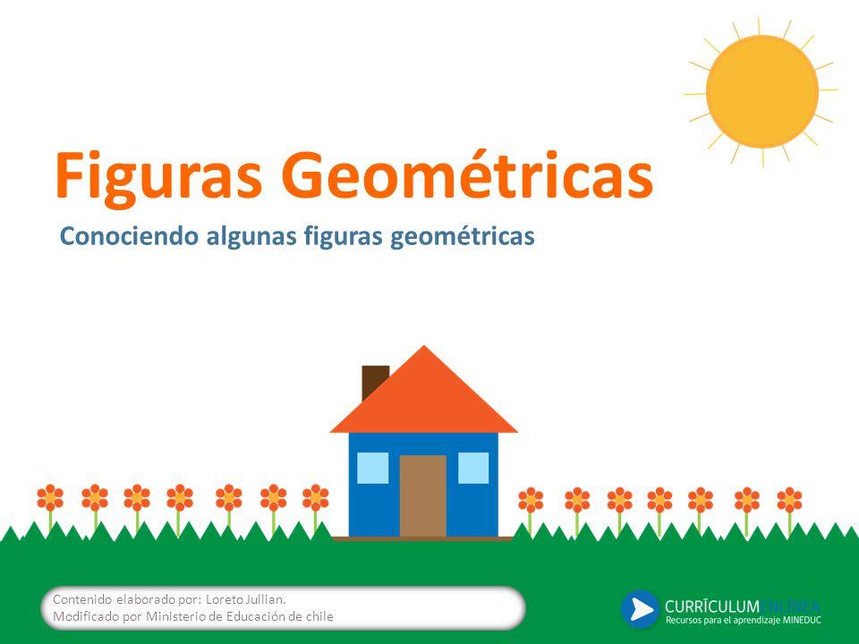 Figuras Geométricas Conociendo algunas figuras geométricas Contenido elaborado por: Loreto Jullian.