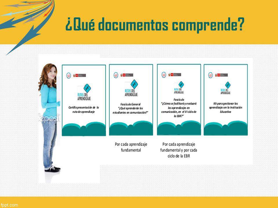 ¿Qué documentos comprende?