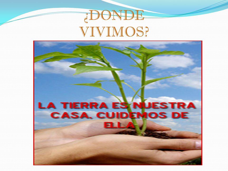 ¿DONDE VIVIMOS