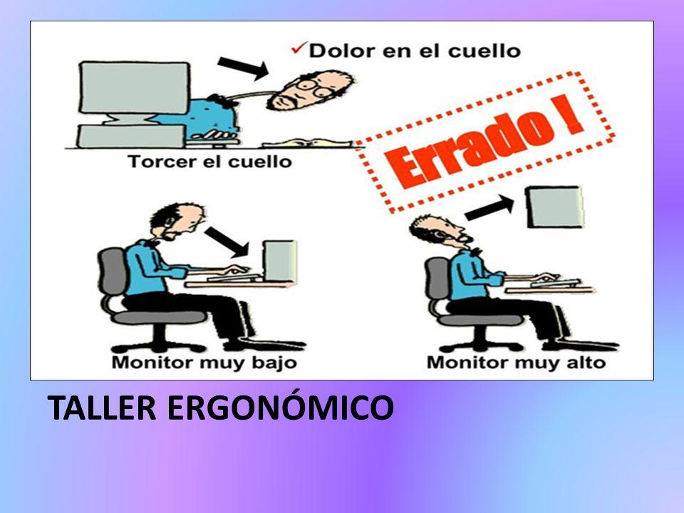 TALLER ERGONÓMICO