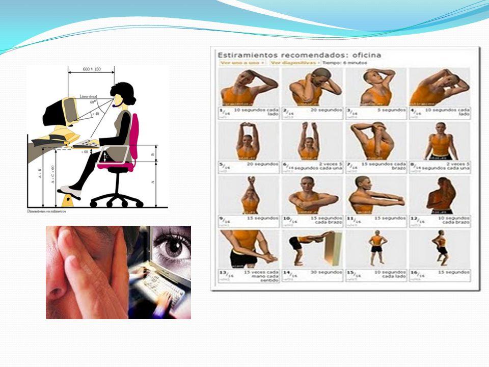 Ergonomía informática Fue ideada principalmente para las personas que trabajan varias horas frente a una computadora, y que muchas veces terminan cansados por la poca comodidad que implica el estar sentado frente a una computadora mucho tiempo.