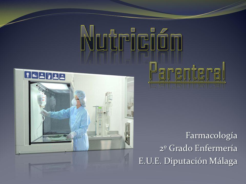 Farmacología 2º Grado Enfermería E.U.E. Diputación Málaga