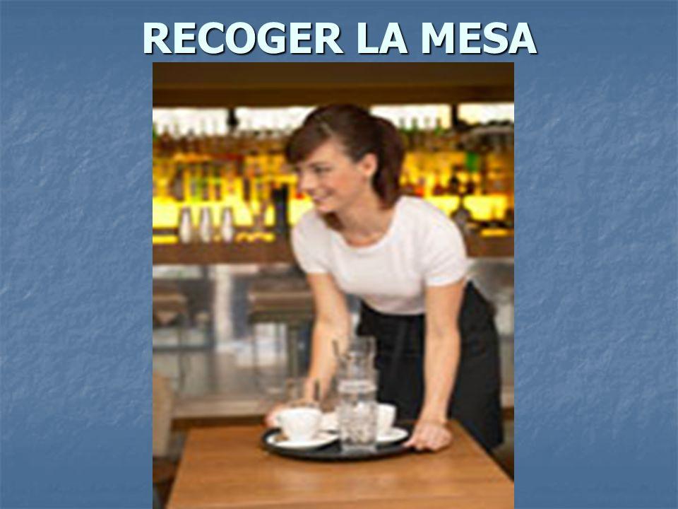 RECOGER LA MESA
