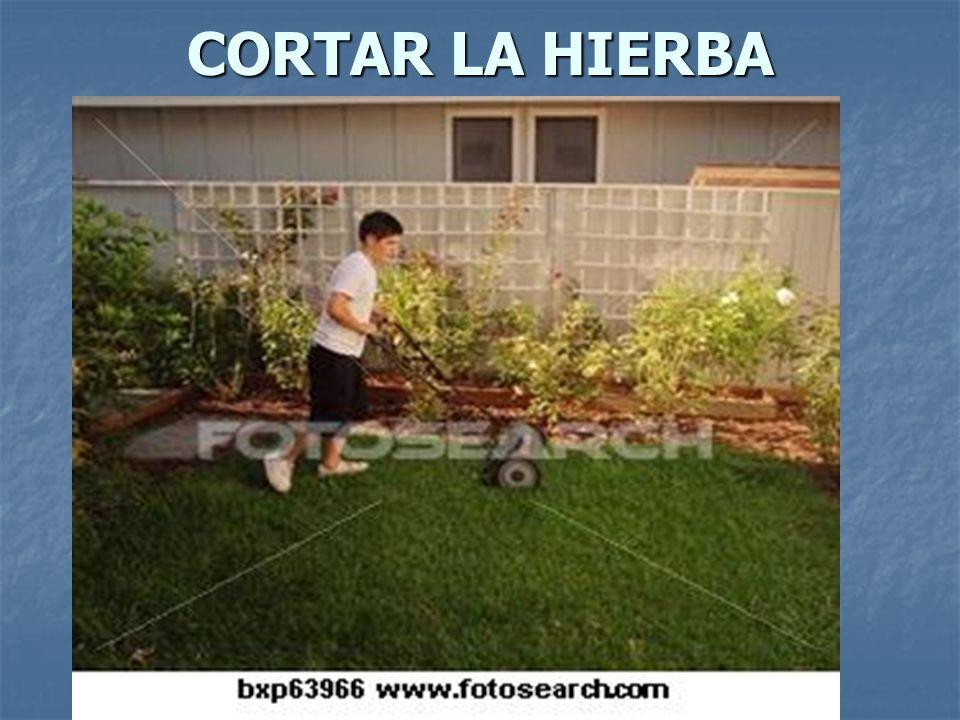 CORTAR LA HIERBA