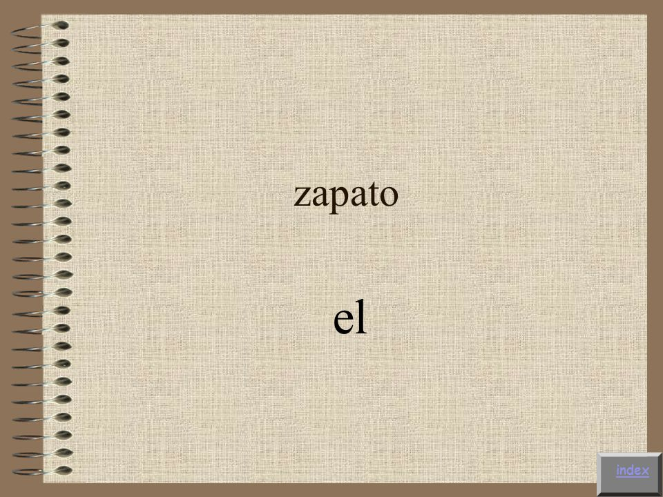 zapato el index