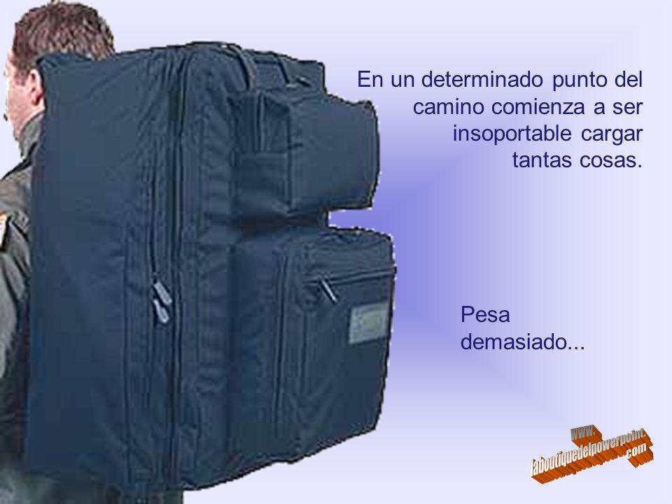 Cuando tu vida comienza, apenas tienes una pequeña valija de mano...