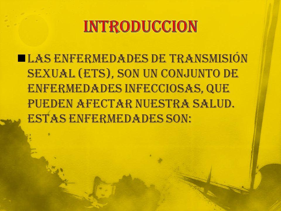 Las enfermedades de transmisión sexual (ETS), son un conjunto de enfermedades infecciosas, que pueden afectar nuestra salud.