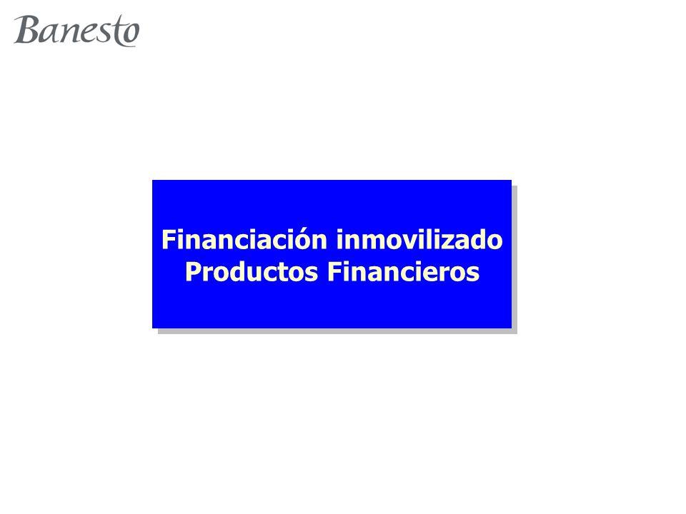 Financiación inmovilizado Productos Financieros Financiación inmovilizado Productos Financieros