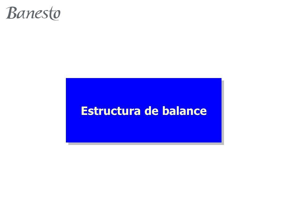 Estructura de balance