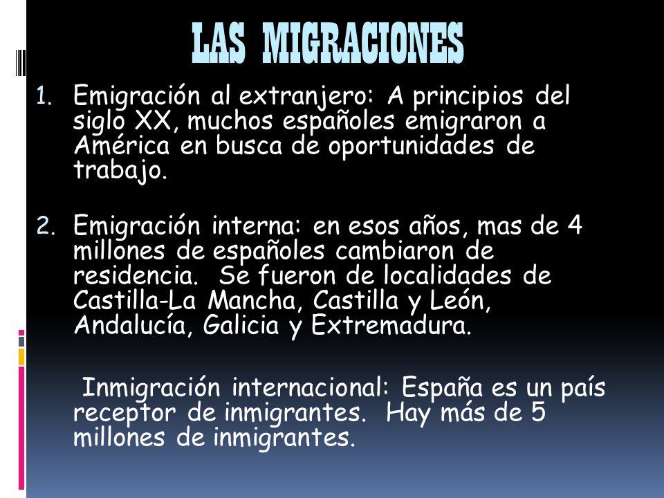 LAS MIGRACIONES 1.