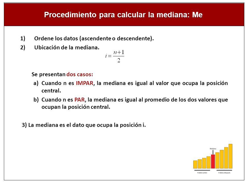 Calcule e interprete la mediana para los datos correspondiente a la variable: número de hijos.
