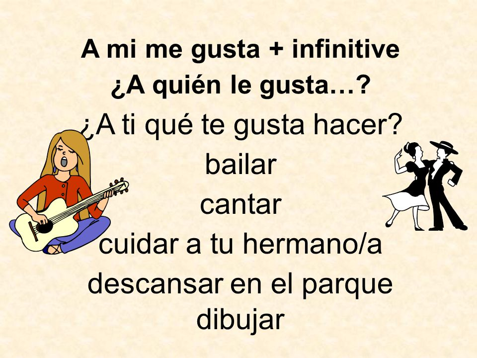 Vocabulario 4C, Tercer Paso Talking about where you and others go during free time