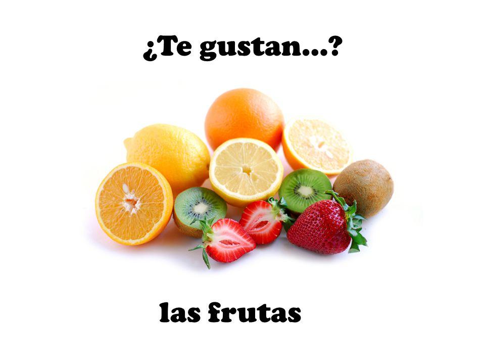 las frutas ¿Te gustan…